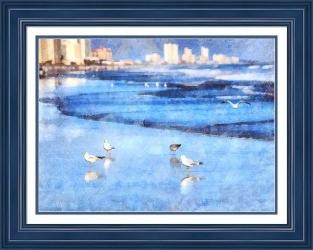 Gull Talk (Framed)